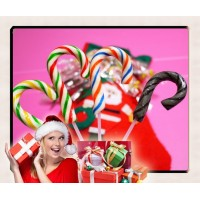 經典-大隻聖誕拐杖糖加厚加粗版(台灣製)-單隻報價