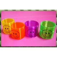 微笑主題的6公分直徑的彩虹圈(妙妙圈)-彩晶螢光