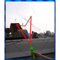 拉出超大超長的三角造型吹泡泡棒(50公分長加大加粗款)