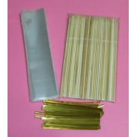 21公分型裝棉花糖棒專用套組(200個)