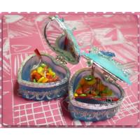 超大方的婚禮小物-愛心珠寶盒加脆皮水果糖