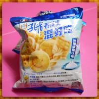 20元賣乖乖孔雀香酥脆嗆沖繩雪鹽口味非油炸(單包報價)