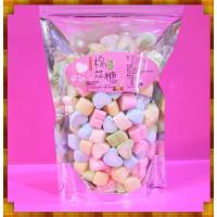 A級彩色小愛心棉花糖1.5公分小包裝