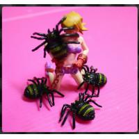 恐怖又好玩的擬真蜘蛛嚇一跳玩具(4隻裝)