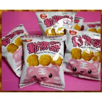 道地台灣老工廠的烤動物餅乾(薄鹽)1800g分多包小包裝
