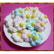 AA級義大利原裝進口寶格麗造型棉花糖900g包(超大顆花朵造型)