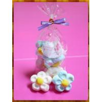 AA級義大利原裝進口寶格麗造型棉花糖6顆包(超大顆花朵)