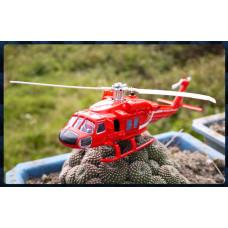 限量超大款超合金警用救難救援直昇機
