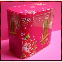 喜年來蛋捲禮盒芝麻口味(大)鐵盒裝