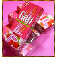 Gap草莓拌醬棒(份量加大版)真的有牛奶喔