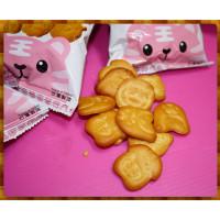 道地台灣老工廠的烤動物餅乾(奶油)10小包裝