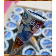 小精靈授權75%榛果巧克力脆皮甜筒冰淇淋