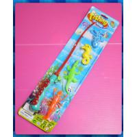 中型釣鱷魚玩具組(磁鐵)