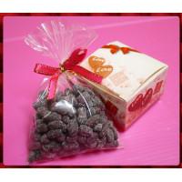 婚禮小物專用-糖霜相思小紅豆裝入可愛的糖果小物
