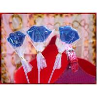 藍精靈嘴唇棒棒糖台灣製(單隻報價)-半透明款