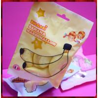 AA級義大利進口寶格麗棉花糖9顆隨手包(香蕉造型)