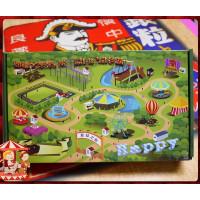 遊樂園暢遊懷舊風禮盒裝入日式瓦片煎餅10包裝