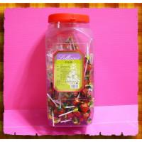 古早味草莓棒棒糖(營業罐裝)