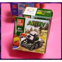 超可愛陸軍坦克車26片裝專用作送禮用