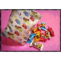 迪士尼紙袋裝入萬聖節水果爆醬軟糖10顆裝