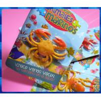 很古老的童玩-泡水膨脹玩具-海洋動物系列
