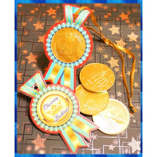 頒獎囉,獎牌巧克力給您陽光耀人的地中海風