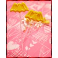 招財與定情專屬蝙蝠棒棒糖(全台灣製)-2隻裝
