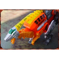 侏儸紀世界主題之最強恐龍變身機器人三合一玩法-迅猛龍