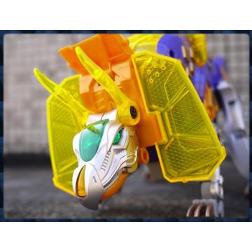 侏儸紀世界主題之最強恐龍變身機器人三合一玩法-三角龍
