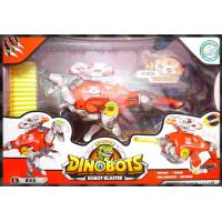 侏儸紀世界主題之最強恐龍變身機器人三合一玩法-暴龍霸王龍