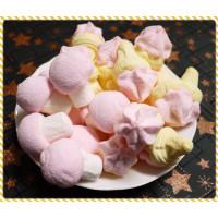 AA級義大利原裝進口寶格麗造型棉花糖900g包(蘑菇以及冰淇淋造型合一包)