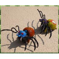 經典童玩再現-免電池的拉線牽龍跑-蜘蛛小姐