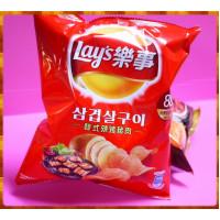 20元賣Lay's樂事韓式辣烤豬肉(單包報價)