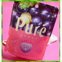 日本長野縣原裝進口-甘樂鮮果實軟糖-葡萄100%日本原裝