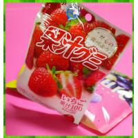 日本埼玉縣原裝進口-明治果汁QQ軟糖-草莓