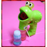 聲光大眼青蛙連續吹泡泡槍(特大款)