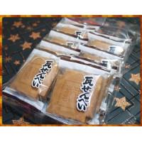 日本新瀉原裝船岡製菓瓦片煎餅10小包共20塊裝
