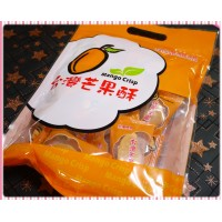 精緻禮袋裝-親親台灣造型芒果酥(奶蛋素)-台南老工廠生產