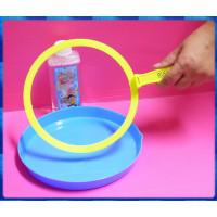 方便攜帶並可輕鬆重複使用的2拉出超大超長的泡泡圈組(內文詳細介紹)