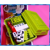 正台灣製-東東月曆積木主題收納盒