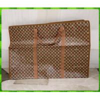 80公分寬x55公分高橫式超大可重複使用防水帆布環保袋