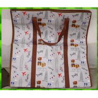 60公分寬x65公分高直式超大可重複使用防水帆布環保袋