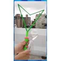 拉出超大超長的三角造型吹泡泡棒(35公分長標準款)-甜心款