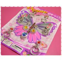 小公主家家酒專用的玩具耳環組