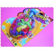 灌水氣球內有100顆裝