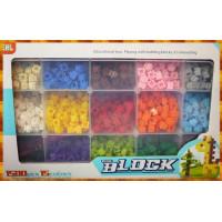 立體迷你彩色磚塊積木1500顆裝(含精美收納盒)
