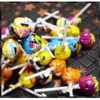 台灣製大水果棒棒糖萬聖節主題10隻裝