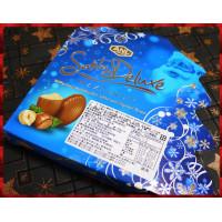 專用於義大利聖誕市級銷售的榛果牛奶巧克力燙金聖誕樹包裝