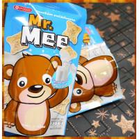 使用真奶粉不是奶香精小蜜熊餅乾12包裝(25gx12)