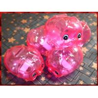 粉紅色限量版小豬撲滿(180cc容量)塑膠材質台灣製造